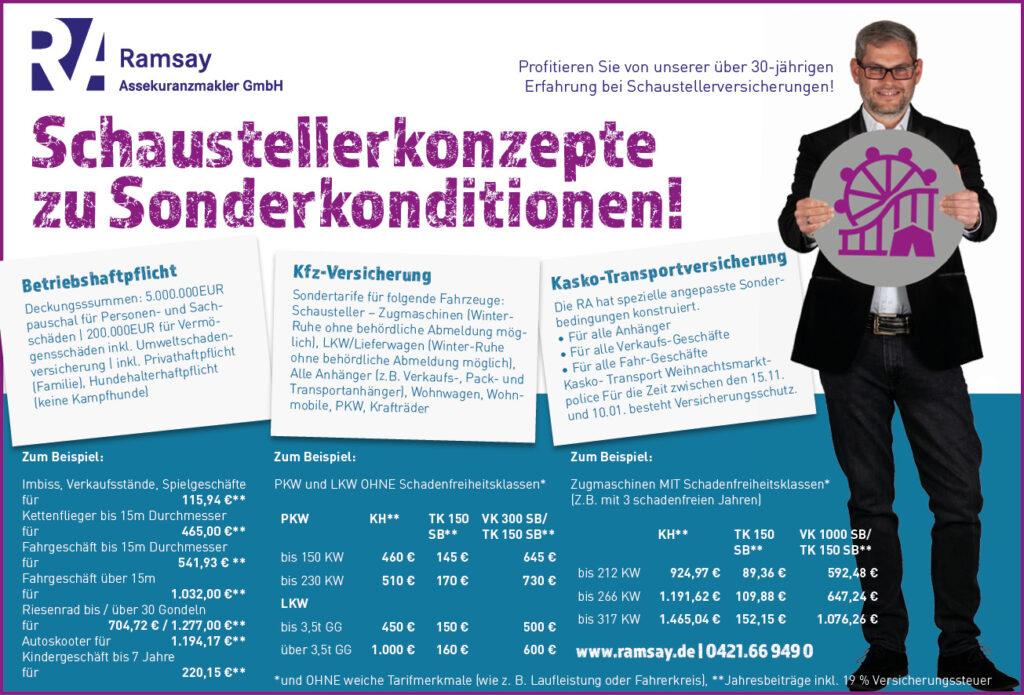Ramsay Schaustellerversicherung Bremen